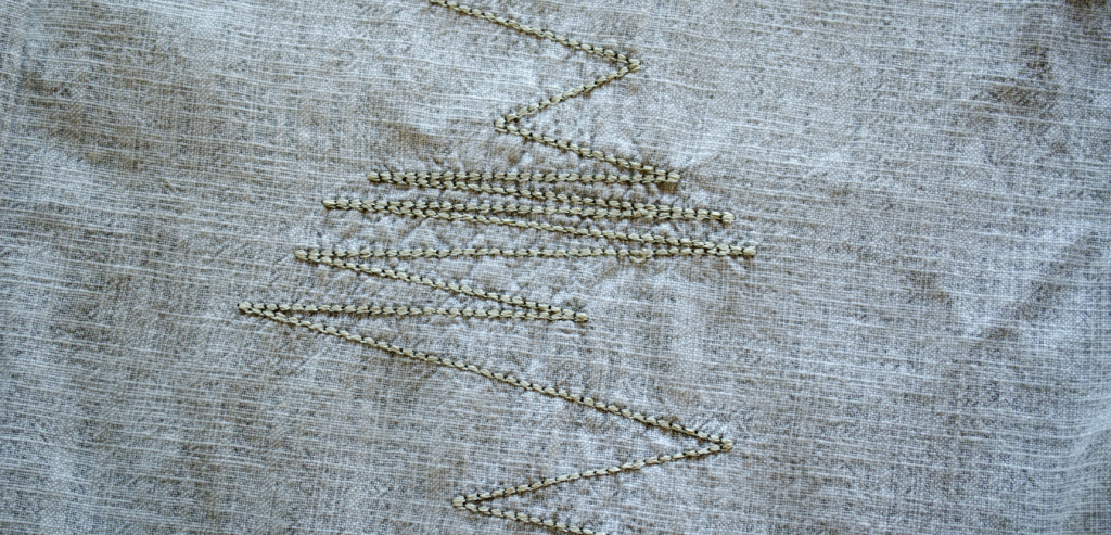 Linen fabric made from flax